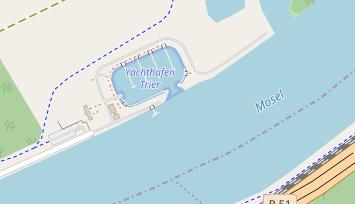 Trier Karte Umgebung.Yachthafen Trier Monaise Marina In Deutschland