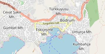 Bodrum Karte.Milta Bodrum Marina Marina In Türkei