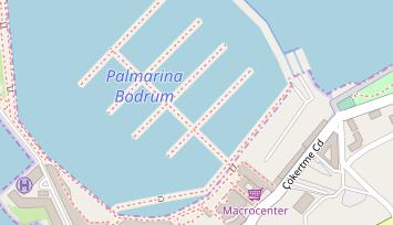 Bodrum Karte.Port Bodrum Yalikavak Marina In Türkei