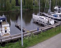 Yachthafen - Toiletten - Belgien - Royal Belgian Sailing Club Langerbrugge