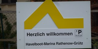 Yachthafen - Rathenow - Havelboot Grütz
