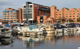 Yachthafen - Toiletten - East Midlands - Lincoln Marina