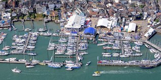 Yachthafen - Südwestengland - Cowes Yacht Haven